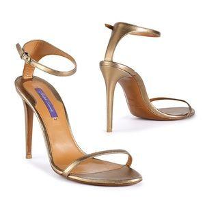 Ralph Lauren Metallic Nappa Blasia Sandals